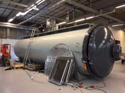 Customized Composite Autoclave Designed for Sports Equipment and Medical Industry