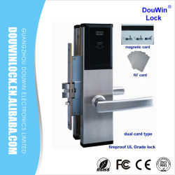 China Wholesale Market Hotel RF Card Lock for Wooden Door