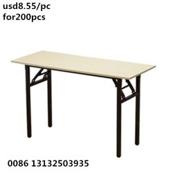 Cheap Wholesale Furniture Round Hotel White Banquet Folding Table