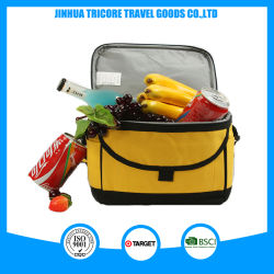 Functional Lunch Cooler Bag 600d Polyester Instant Ice Pack