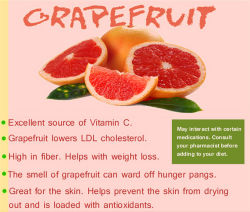 Grapefruit Juice Powder for Beverage and Food Flavor
