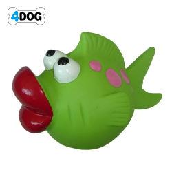 Vinyl Squeaky Duck with Bones Printing Dog Toy, Pet Toy (D11359)
