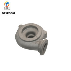 Customized Aluminum Sand Casting Motorcycle Accessories Pump Body