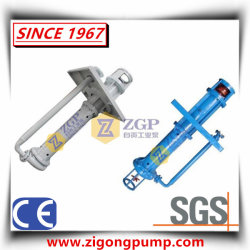 Vertical Duplex Stainless Steel Submerged Slurry Sump Pit Pump