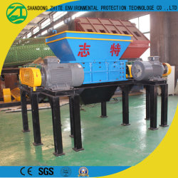 Cutting Machine with Double Shaft for The Plastic