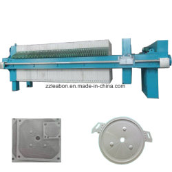 Water Purification Mineral Slurry Filter Press Machine