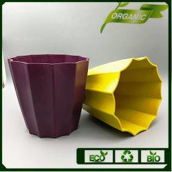 Bamboo Powder Biodegradable Fiber Bulk Flower Pots
