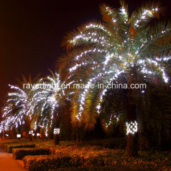 commercial resort palm tree decoration branch led string lights