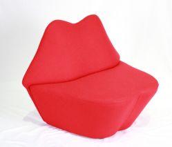 Popular Red Lip Shape Bocca Sofa