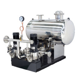 Equipment for Pressurized Water Supply of Pressure-Free Tube Network