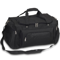 Polyester/Canvas Trolley Promotion Duffel Luggage Gym Sports Duffle Travel Bag
