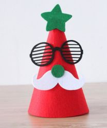 Felt Hat for Christmas Party Decoration Ornament in Stock