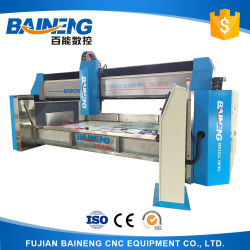 Baineng Fully Automatical 3 Axis CNC Glass Edge Grinding Machine