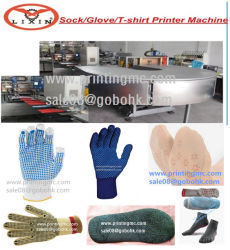 Anti Slip Silicone Dotting Machine Onto Gloves, Socks etc Safety Products