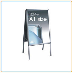 Aluminum Front Open Outdoor Sign Board/Snap Frame Display Stand