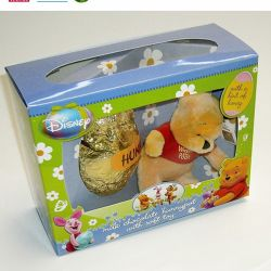Customized Made Toys Paper Packing Paper Box with PVC Window on The Top Wholesale