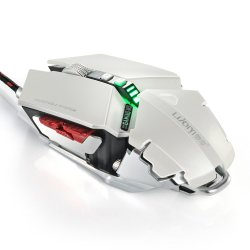 Docooler Luom G50 Mice Wired USB LED Gaming Mouse 4000dpi/CPI 10d Buttons Professional Macro Programmable RGB Breathing