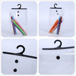 080a057ac1 Transparent Underwear PVC Hook Bag with Button Closure