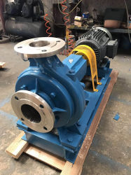 Xwj Frequency Conversion Non-Blocking Stainless Steel Pulp Pump Explosion-Proof Low-Concentration Slurry Pump