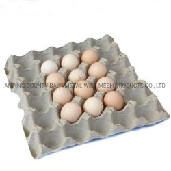 Custom Paper Pulp Egg Carton Egg Tray Box for Sale