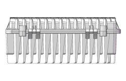Communication Aluminum Die Casting Housing for 5g Base Station Power (XD-302)