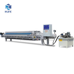 Mining Equipment Automatic Chamber Press Filter of Mineral Processing Plant