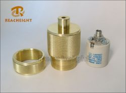 E27 Fancy Brass /Aluminum Lamp Holder