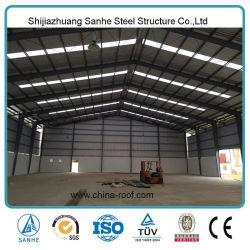Light Prefabricated Steel Portal Frame China Metal Industrial Storage Peb Sheds