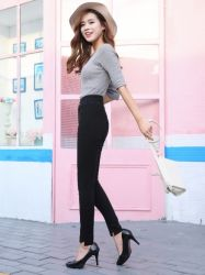 Fashion High Elasticity Wholesale Women Leggings Pencil Pants