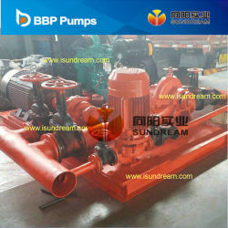 UL/FM Listed Diesel Engine Driven Fire Fighting Centrifugal Water Pump