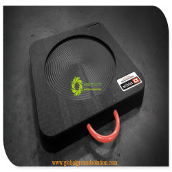 Wear Resistance Ultra High Molecular Weight UHMWPE Crane Outrigger Pad with SGS