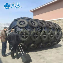 China Factory Ship to Ship Operation Marine Rubber Fender for Boat Ship Vessel
