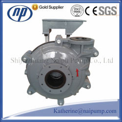 Single Stage Horizonal Centrifugal Mining Rubber Slurry Pump