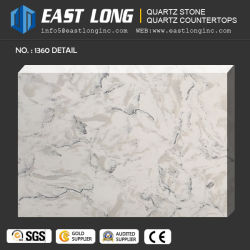 Marble Vein Quartz Stone Countertops For Kitchen/Bathroom Table Tops/Hotel  Design