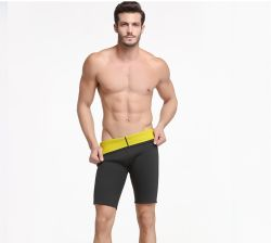 Hith-Elastic 2mm Neoprene Pirate Shorts Pants for Men's&Sportswear