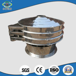Efficient Discharge Rotary Circular Industrial Cassava Corn Starch Vibrating Sieve