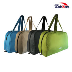 Fashion RPET Waterproof Classic Leisure Travel Duffle Gym Sport Overlight Bag