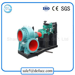 Large Capacity Diesel Engine Mixed Flow Slurry Pump