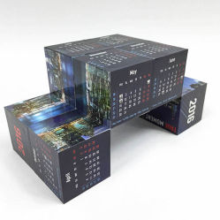 Origami Youtube Promotional Calendar Foldable Magic Cubes