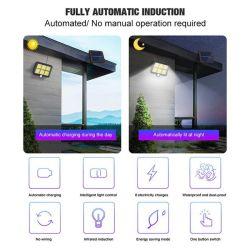 Motion Sensor Waterproof COB Slar Lamp