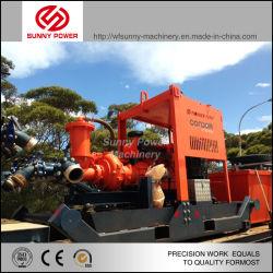 Slurry Transfer Sludge Sand Centrifugal Water Pump with Diesel Engine