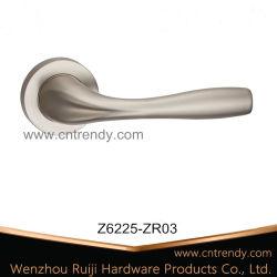 MSN Zinc Door Lock Lever Handle with Square Rose (Z6225-ZR03)