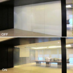 White Electrochromic Pdlc Film for Switchable Smart Glass