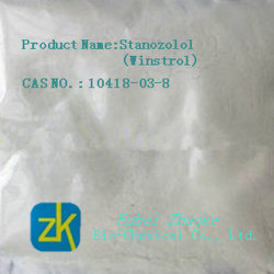 Muscle Building Steroids 99% Stanozol Raw Powder
