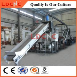 Scrap/Waste/Used Rubber Tyre Shredder Recycling Equipment Line with High Efficiency