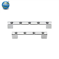 Electroplated Chrome Kitchen Cabinet Hardware Drawer Door Pulls
