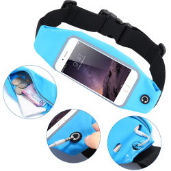 OEM Logo Portable Outdoor Sport Waist Pack/Bag with Touch Screen