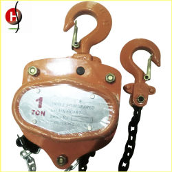 China Factory HS-Vt Type 3ton 3meter Chain Pulley Block