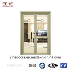 Commercial Aluminum Glass Door Price Double Swing Door