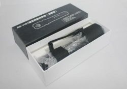 Military Tactical Flashlight Stun Gun with Electric Shock Police (SYSG-1101)